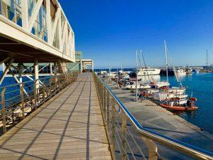 Limassol Marina Sky Bridge