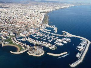 Limassol Marina BirdEye View