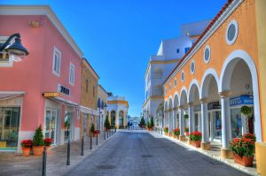 Shopping Street mediterranean cruise limassol- cyprus